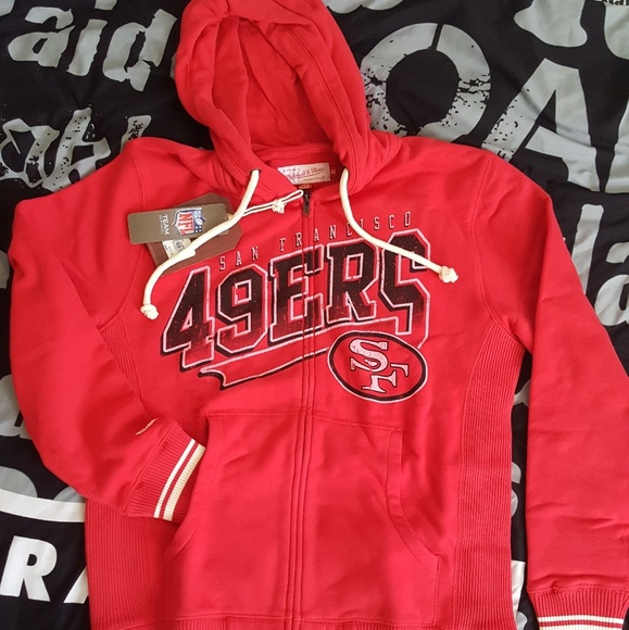 64fbe2279 Mitchell & Ness Sweaters | San Francisco 49ers Hoodie Mens Sizem ...